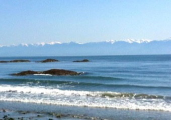 ocean with mountain views and rocks, Rental Suite in Contemporary Home in James Bay, Canada, pet friendly by owner vacation rental in Vancouver, Canada